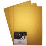 Fredrix Metallic Cut Edge Panel, Gold 3-Pack 9 x 12