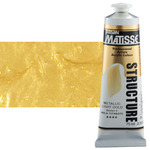 Matisse Structure Acrylic 75 ml Tube - Metallic Light Gold