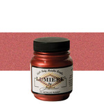 Jacquard Lumiere Fabric Color 2.25 oz Jar - Metallic Russet