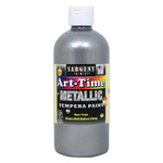 Sargent Art Art-Time Tempera 16 oz Metallic Silver