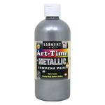 Sargent Art Art-Time Tempera 16 oz Metallic Silver
