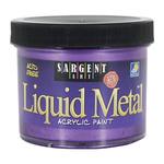 Sargent Art Liquid Acrylic 4 oz Metallic Violet