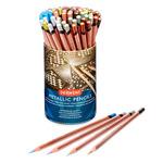 Derwent Watercolor Pencils Studio Metallic Tub of 72 - Assorted