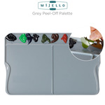 Mijello Trucolor Neutral Grey Peel-Off Oil & Acrylic Palettes