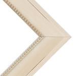 "Box of 4 Millbrook 2.375"" Constantine Cream Frame 18X24 w/ Acrylic"