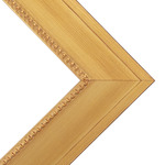 "Millbrook Collection - Constantine 2.375"" Gold Frame 11X14 w/ Glass"