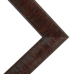 Millbrook Collection: Renewal Core - Brazil Nut Mahogany Frame 22X28 Acrylic