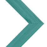 Millbrook Collection Ready Made Frames Country Chic French Teal 13x19 In