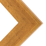 Millbrook Collection: Memphis Gold Frame 2.5in 12X16 With Glass