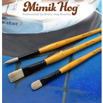 Mimik Hog Professional Synthetic Hog Bristle Brushes