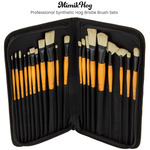 Mimik Hog Professional Synthetic Hog Bristle Brush Sets