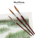 Mimik Kolinsky Sword Liners Brushes