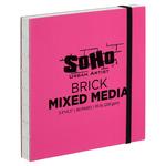 SoHo Brick Journal 200 GSM 5.5 x 5.5 Mixed Media (40-Sheets)