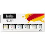 Liquitex Professional Soft Body Acrylic 59ml Mixing Set Of 6 Colors