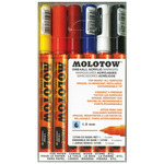 Molotow One4All Marker 1.5mm Set of 6 Basic Colors