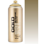 Montana GOLD Acrylic Professional Spray Paint 400 ml - Transparent Gold Matte