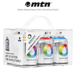 MTN Water-Based Spray Paint Workshop Packs by Montana Colors