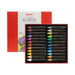 Mungyo Water-Soluble Oil Pastel Set of 24 - Pearl Set