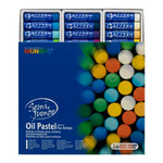 Mungyo Gallery Jumbo Oil Pastels Cardboard Box Set of 36 Jumbo - Assorted Colors
