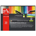 Caran d'Ache Landscape Museum Aquarelle Pencil Set of 20 Colors