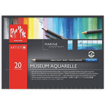 Caran d'Ache Marine Set of 20 Museum Aquarelle Pencils
