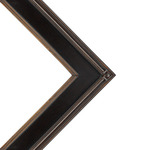 Museum Collection De Stijl Frame Black/Gold 16x20