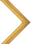 Museum Collection Nouveau Frame Gold 18x24