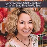 Nancy Medina Signature Charvin Extra Fine Acrylic Sets