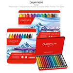 Caran d'Ache Neocolor II Aquarelle Water-Soluble Wax Pastel Tin Sets