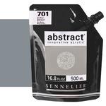Sennelier Abstract Acrylic Neutral Grey 500ml