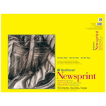 Strathmore 300 Series Newsprint Pad Rough 50 sheets 18x24""