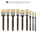 New York Central Gigante Bristle Brushes - Large Scale Painting Brushes
