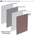New York Central Professional Gessoed AlumaComp Panels