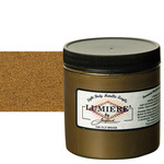 Jacquard Lumiere Fabric Color 8 oz Jar - Old Brass