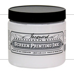 Jacquard Screen Printing Ink 16 oz Jar - Opaque White
