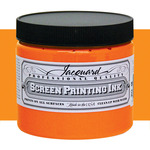 Jacquard Screen Printing Ink 16 oz Jar - Orange