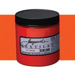 Jacquard Permanent Textile Color 8 oz. Jar - Orange