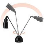 OttLite 15 Watt HD Telescoping Table Lamp Black