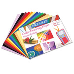"Tiziano 9 1/2"" x 12 1/2"" Pochette Pack of 12 Assorted Color Sheets"