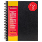 Reflexions Double Wire Bound Field Sketchbook 8.5x11 (12-Pack)