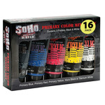 16-Pack Soho Urban Artist Acrylic 75ml Mixing Colors Set Of 5