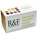 R&F Encaustic 40ml Painter's Dozen Set