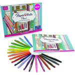 Paper Mate Flair Pen Fabulous Closets Coloring Kit