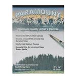 "Paramount 10 Sheet Cotton Canvas Pad 12x16"""