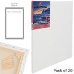 "Paramount Bulk Canvas 3/4"" Bulk Pack of 20 12x16"""