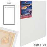 "Paramount Bulk Canvas 3/4"" Bulk Pack of 20 16x20"""