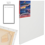 """Paramount 11/16"""" Deep Cotton Stretched Canvas Single - 12x24"""""""