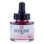 Ecoline Liquid Watercolor 30ml Pipette Jar Pastel Red