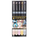 Chameleon Marker Set Of 5 -  Pastel Tones