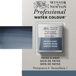 Winsor & Newton Professional Watercolor Half Pan - Payne's Gray